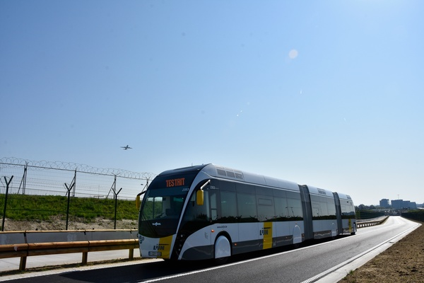 Reinforcing Brussels Airport as intermodal hub with 'Ring trambus'