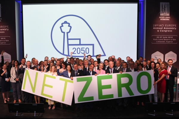 Brussels Airport will not emit any more CO2 by 2050