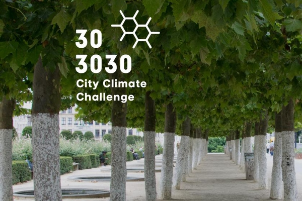 Brussels Airport Company supports the 303030 City Climate Challenge