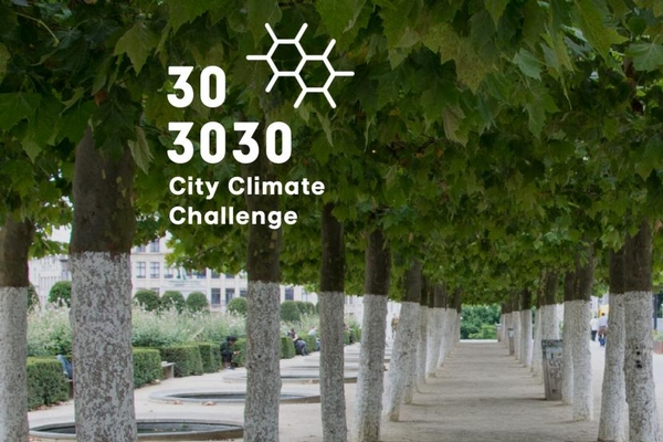 Brussels Airport Company active member of the 303030 City Climate Challenge
